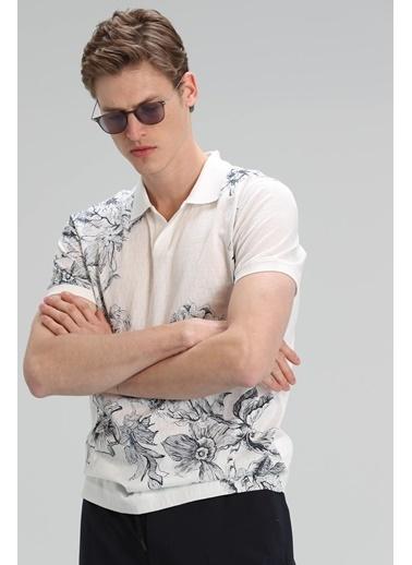 Lufian Mason Spor Polo T- Shirt   Beyaz